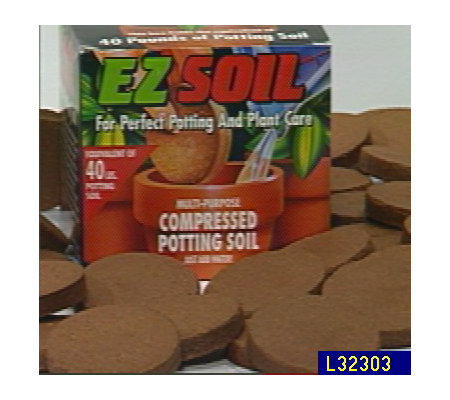 E z soil compressed potting soil for Potting soil clearance