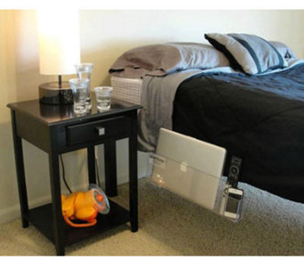 Bed Butler Bedside Storage for Papers, Folders, Laptop and More - L41307