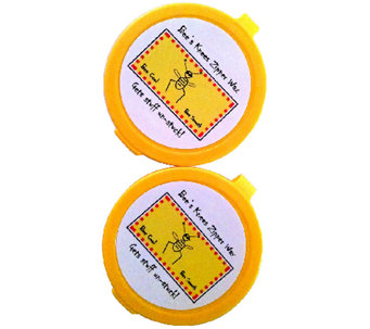 Bee's Knees Set of 2 Multi-Purpose 100% Bee's Wax Discs - L43710