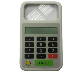 Tip 'n Split Tip Calculator with Magnifier & Light - L41721