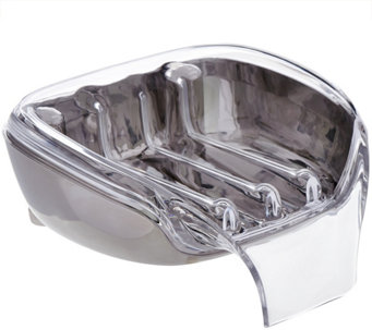 SoapSeat Self Draining Soap Dish with Adjustable Legs - L42030