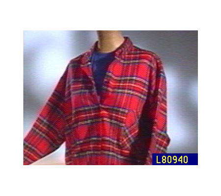 Women 39 s plaid flannel button down nightshirt for Womens flannel night shirts
