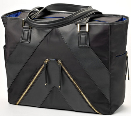 MinkeeBlue Multi-Function Travel/Work Tote Bag