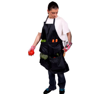Pick Pocket Garden Apron with Large Pockets - L41588