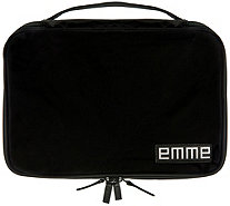 EMME Original Toiletry Cosmetic Bag w/ 7 Pockets & 12 Bottles - L45289