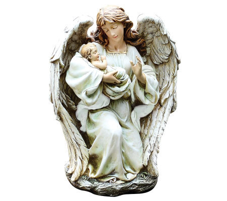 "15"" Angel with Baby by Roman"