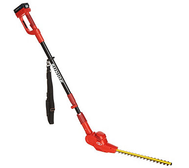 Sun Joe 20V Cordless Rechargeable Telescoping Hedge Trimmer - M55000