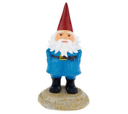 travelocity 13quot roaming gnome garden statue page 1 � qvccom