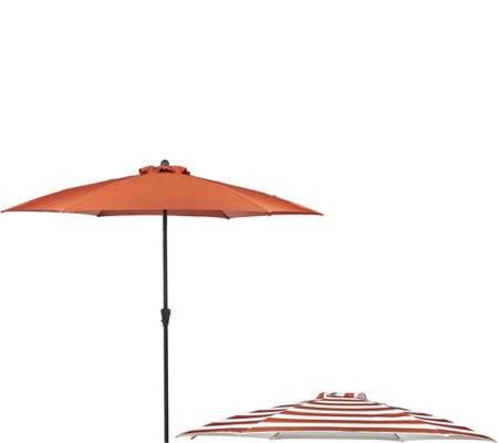ATLeisure 9' Airflow Patio Umbrella with 2 Canopies