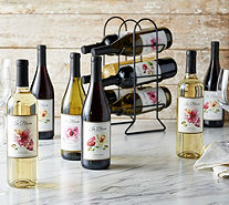 Vintage Wine Estates 12 Bottle In Bloom Wine Set - M54302