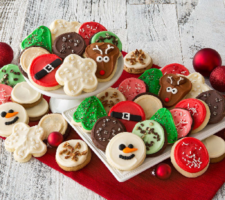 Ships 11/1 Cheryl's Holiday 24 pc PremiereFrosted Cookies