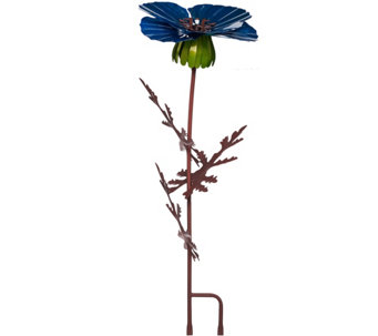 "Desert Steel 36"" Outdoor Garden Flower Torch - M44603"
