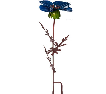 "Desert Steel 36"" Outdoor Garden Flower Torch"