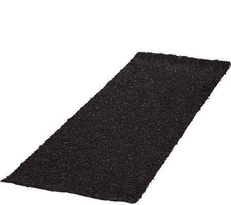 Plow & Hearth 6 ft Faux Rubber Mulch Permanent Pathway