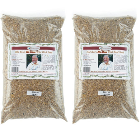 Ultimate Innovations Set of 2 No Mess Wild Bird Seed