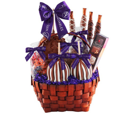 Mrs. Prindable's Grand Signature Caramel AppleBasket