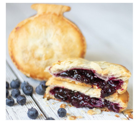 Mamie's Pies (12) 4.25oz Blueberry Pocket Pies