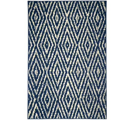 Scott Living 5x7 Diamond Back Indoor/Outdoor Rug