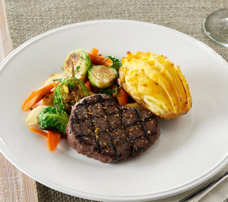 Rastelli (8) 4 oz. Filet Mignons & (8) 5 oz. Baked Potatoes
