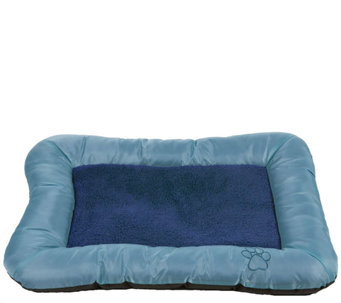 PETMAKER Plush Cozy Large Dog Crate Bed - M114805