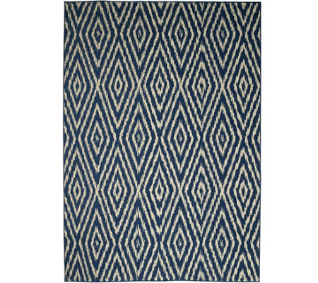 Scott Living 7x10 Diamond Back Indoor/Outdoor Rug