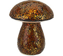 Plow & Hearth Indoor/Outdoor Illuminated Mosaic Mushroom - M50906