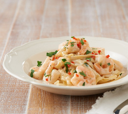 The Perfect Gourmet 2-lbs of Shrimp in Alfredo Sauce