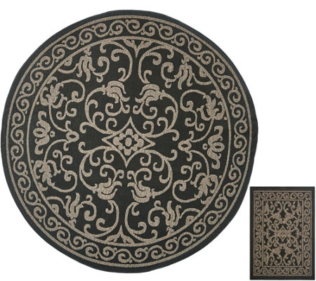 grey circuit rugs decorator round freedom rug outdoor alfresco