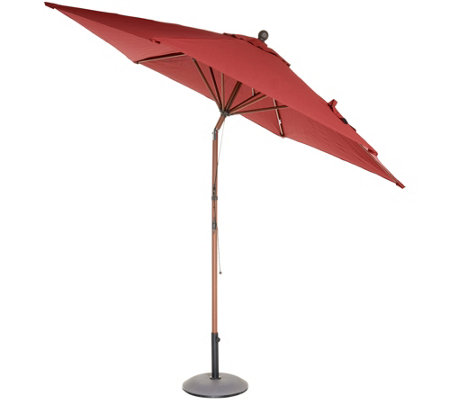 Ship 3/5 ATLeisure 9' Round Fade Resistant Market Umbrella