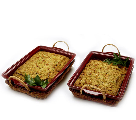 St. Clair 2/2 lb. Corn Bread Dressing Trays