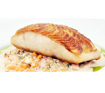 Anderson Seafood Fresh Pacific White Sea Bass (6) 5-oz Fillet - M113708