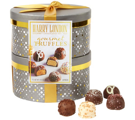 Harry London's Finest Truffle Assortment Holiday Gift Tower