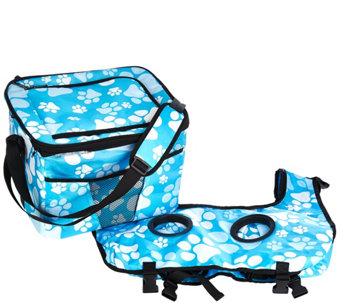 Creative Outdoor Removable Tabletop Cooler w/Cup Holders - M49708