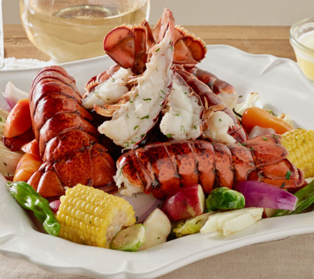 Greenhead Lobster (20) 5-6 oz Tails with 16 oz Butter