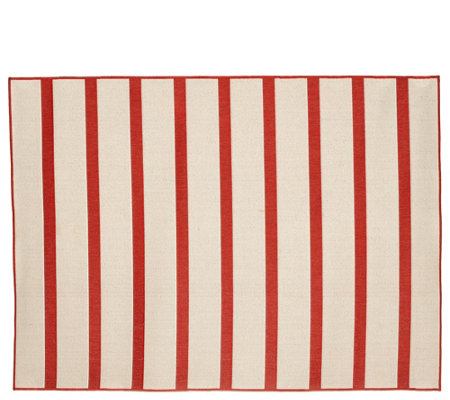 Tommy Bahama 5x7 Reversible Indoor/Outdoor Awning Stripe Rug