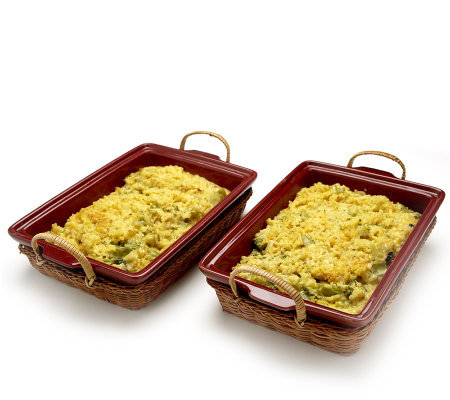 St. Clair 2/2 lb. Broccoli Rice Casserole Trays