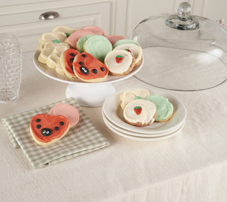 Cheryl's 24 Piece Summer Frosted Cookie Assortment