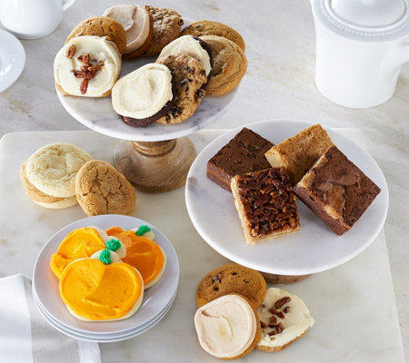 Cheryl's 30 Piece Fall Cookie and Brownie Assortment