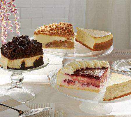 Ships 12/5 Junior's 5 lb. Cheesecake Sampler Auto-Delivery