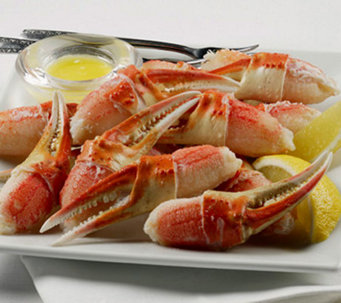 Kansas City Steaks (1) 2-lb Bag Snow Crab Claws - M106511