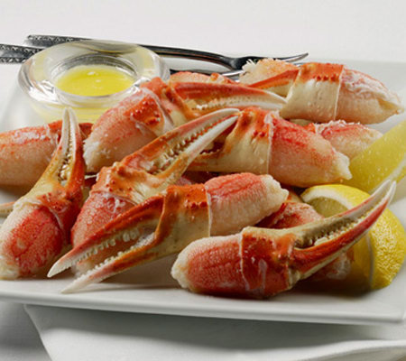 Kansas City Steaks (1) 2-lb Bag Snow Crab Claws