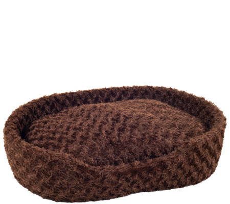 PETMAKER Cuddle Round Plush Large Pet Bed
