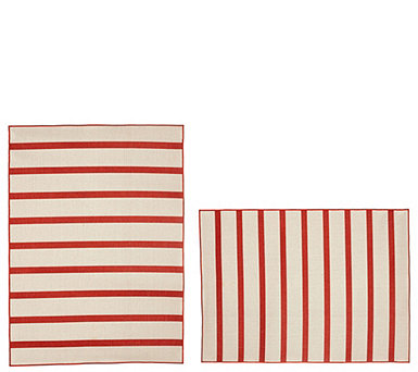 Tommy Bahama Indoor/Outdoor Reversible Awning Stripe Rug - M55711