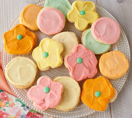 Cheryls 32-pc Spring Frosted Cookies