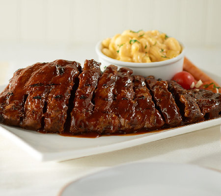 Bubba's Q (4) 18 oz. Deboned Baby Back Rib Steaks in Sauce
