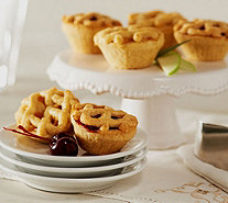 Ships 12/5 Kleine Dutch Set of 36 Dutch Fruit Mini Pies Auto-Delivery - M53312
