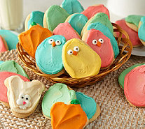 Cheryl's 30 Piece Easter Buttercream Frosted Cutout Cookies - M54112
