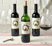 SH 11/6 Vintage Wine Estates Holiday 3 Bottle Set - M55112