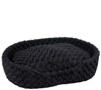 PETMAKER Cuddle Round Plush Extra-Large Pet Bed - M114813