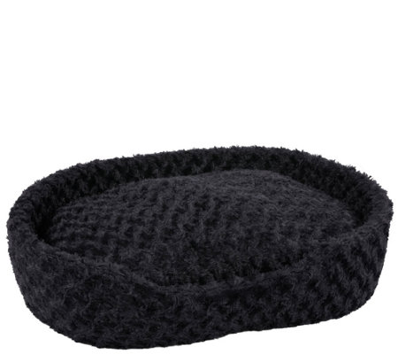 PETMAKER Cuddle Round Plush Extra-Large Pet Bed